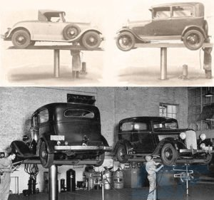 the first car lift